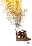 Trabalibros-máquina de escribir
