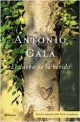 El dueño de la herida (Antonio Gala)-Trabalibros