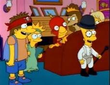 Los Simpson referencia a La naranja mecánica-Trabalibros