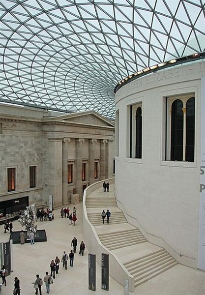El lobo y el chico // Ft. Reed Leagallow // Privado Sala-de-lectura-del-museo-britanico-de-londres-british-museum-3-trabalibros
