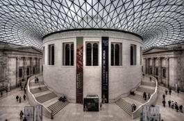 Sala de Lectura del Museo Británico de Londres (British Museum)-Trabalibros
