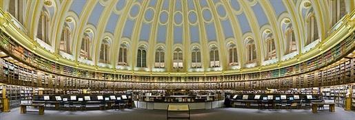 Sala de Lectura del Museo Británico de Londres (British Museum)2-Trabalibros