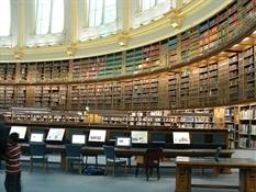 Sala de Lectura del Museo Británico de Londres (British Museum)5-Trabalibros