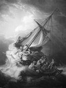 Grabado de Rembrandt-Trabalibros