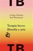 Terapia breve filosofía y arte (Giorgio Nardone)-Trabalibros