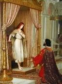 Un rey y una mendiga (Edmund Blair Leighton)-Trabalibros