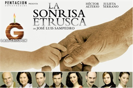 Obra de teatro La sonrisa etrusca-Trabalibros