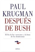 Después de Bush (Paul Krugman)-Trabalibros