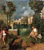 La tempestad (Giorgione)-Trabalibros