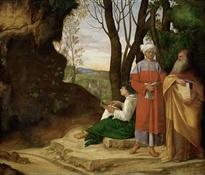 Los tres filósofos (Giorgione)-Trabalibros