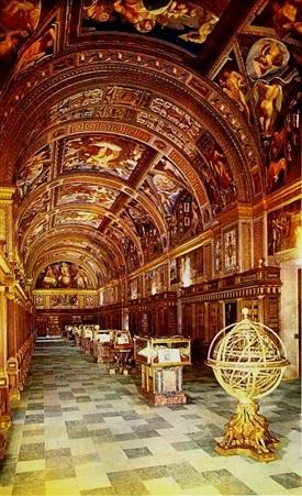 Real Biblioteca del Monasterio del Escorial (Madrid) 10-Trabalibros