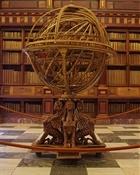 Esfera armilar biblioteca San Lorenzo del Escorial-Trabalibros