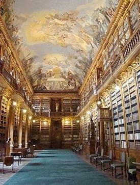 Sala filosófica monasterio Strahov (Praga)-Trabalibros
