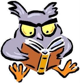 Buho con libros-Trabalibros