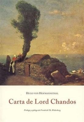 Carta de Lord Chandos (Hugo von Hofmannsthal)-Trabalibros