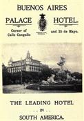 Hotel Palace de Buenos Aires-El tango de la Guardia Vieja-Trabalibros