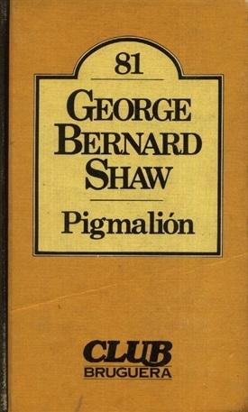 Pigmalión (George Bernard Shaw)-Trabalibros