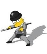 La naranja mecánica y los Simpson 3-Trabalibros