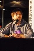 Paco Roca en presentación Sesenta kilos (Ramón Palomar)