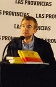 Santiago Posteguillo en presentación Sesenta kilos (Ramón Palomar)