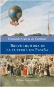 Breve historia de la cultura en España (Fernando García de Cortázar)-Trabalibros
