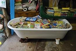 Librería Acqua Alta Venecia-Trabalibros (2)