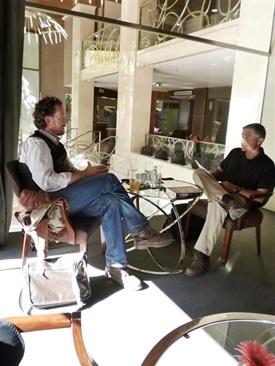 Trabalibros entrevista a Jerónimo Tristante