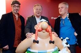 Creadores del nuevo comic de Astérix-Trabalibros