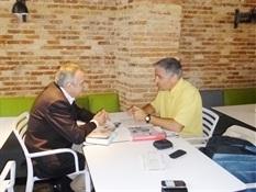 Bruno Montano de Trabalibros entrevista a Manuel Cerdán(2)