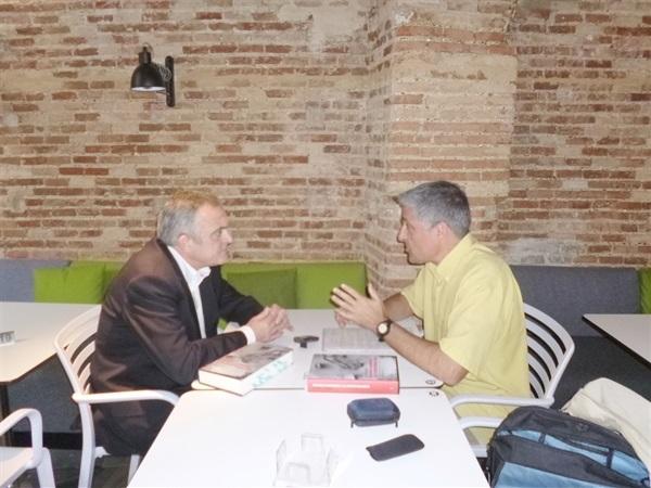 Bruno Montano de Trabalibros entrevista a Manuel Cerdán