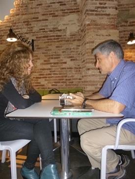 0.Bruno Montano de Trabalibros entrevista a Raquel Martos