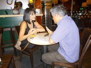 1. Bruno Montano de Trabalibros entrevista a Irene Villa