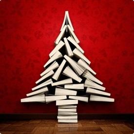 Árbol de Navidad de libros-Trabalibros