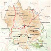 01.Camino de Stevenson Montes de Cévennes-Trabalibros