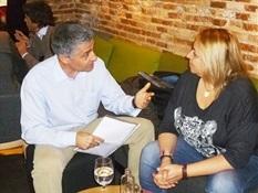 6.Bruno Montano de Trabalibros entrevista a Megan Maxwell