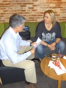 0.Bruno Montano de Trabalibros entrevista a Megan Maxwell