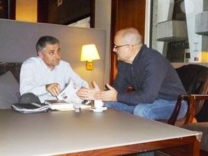 1.Bruno Montano de Trabalibros entrevista a Juan Miguel Aguilera