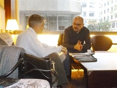 6.Bruno Montano de Trabalibros entrevista a Juan Miguel Aguilera
