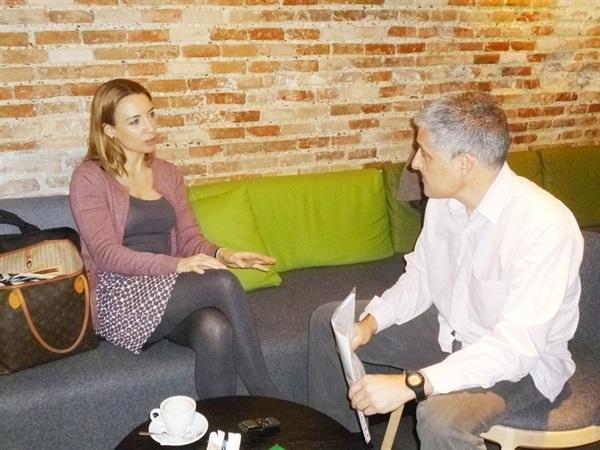 1.Bruno Montano de Trabalibros entrevista a Patricia Ramírez