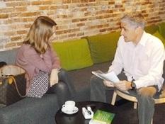 10.Bruno Montano de Trabalibros entrevista a Patricia Ramírez