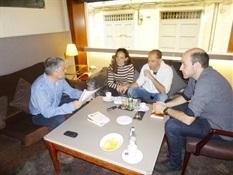 5.Bruno Montano de Trabalibros entrevista a Julio Basulto y Juanjo Cácere