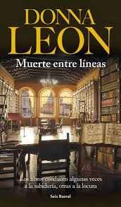 Muerte entre líneas (Donna Leon)-Trabalibros