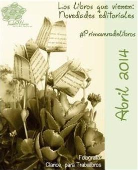 Portada Novedades editoriales ABRIL 2014