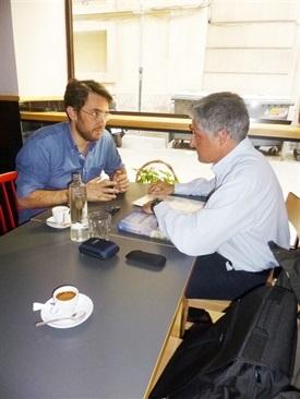 0.Bruno Montano de Trabalibros entrevista a Màxim Huerta