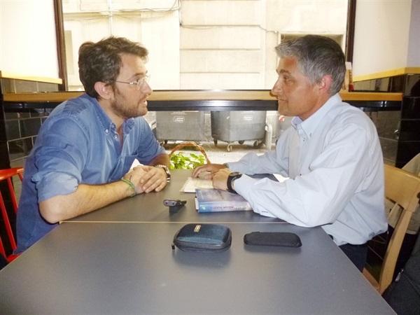4.Bruno Montano de Trabalibros entrevista a Màxim Huerta