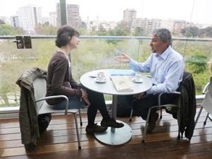 1.Bruno Montano de Trabalibros entrevista a Marina Sanmartín