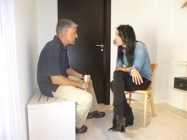 1.Bruno Montano de Trabalibros entrevista a Mario Vaquerizo