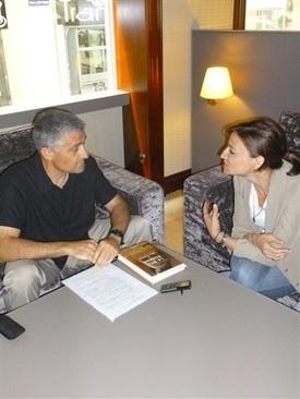 0.Bruno Montano de Trabalibros entrevista a Carla Montero