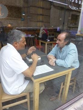0.Bruno Montano de Trabalibros entrevista a Alfonso Mateo-Sagasta