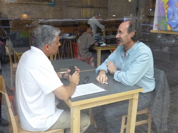 1.Bruno Montano de Trabalibros entrevista a Alfonso Mateo-Sagasta